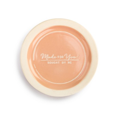 DEMDACO Made For You Celebration Plate pink