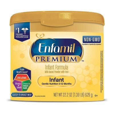 Enfamil 6pk Premium Infant Formula Powder - 22.2oz
