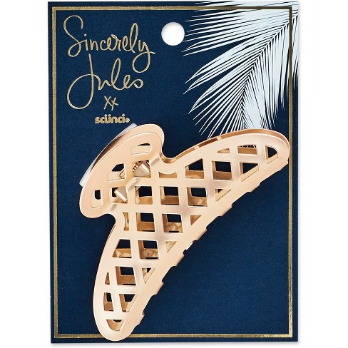 Sincerely Jules by Scnci Metal Open Weave Jaw Clip - image 1 of 3