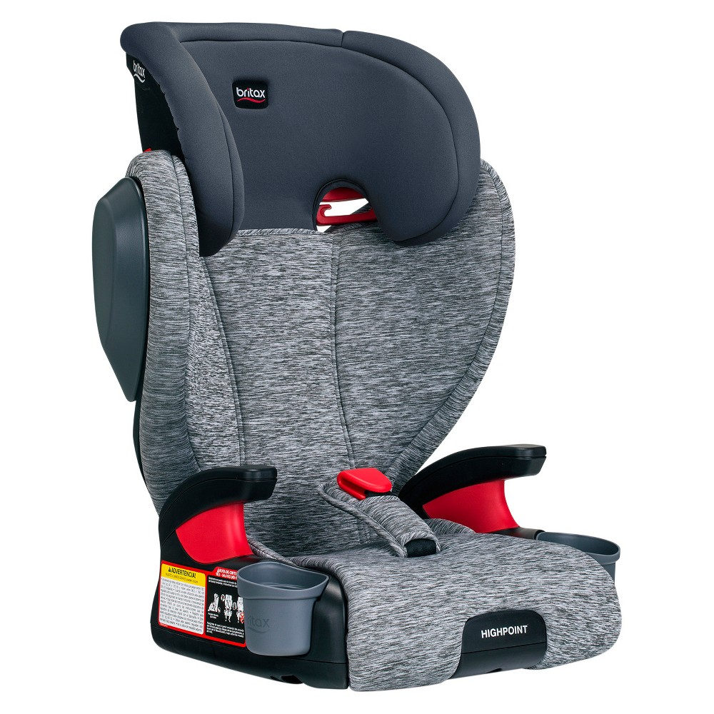 Image of Britax Highpoint Belt-Positioning Booster Seat - Asher