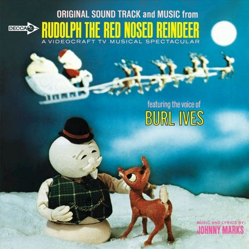 Burl ives - Rudolph the red nosed reindeer (Vinyl) - image 1 of 1