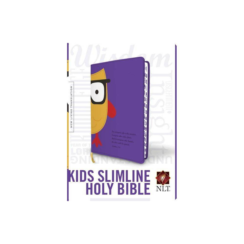 Slimline Reference Bible Nlt Owl Leather Bound