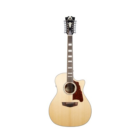 D'Angelico Premier Fulton 12-String Acoustic-Electric Guitar - Natural - image 1 of 1