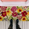 """TAG 1'6"""" x 3'3"""" Fresh Flowers Estate Coir Doormat Indoor Outdoor Welcome Mat - image 2 of 3"""