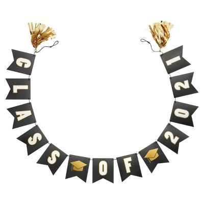 'Class of 2021' Tassel Garland Decorative Party Accessory - Spritz™