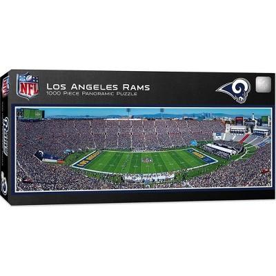 MasterPieces Inc Los Angeles Rams Stadium NFL 1000 Piece Panoramic Jigsaw Puzzle