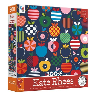 Ceaco Kate Rhees: Scandi Apples Oversized Jigsaw Puzzle - 300pc