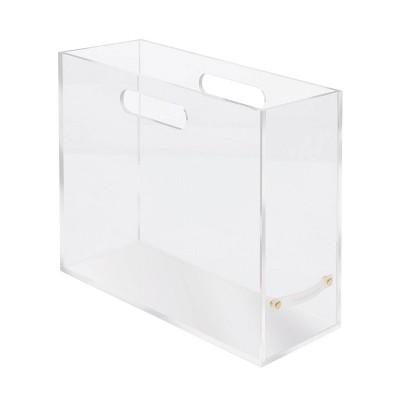 RUSSELL + HAZEL Acrylic File Box Slim