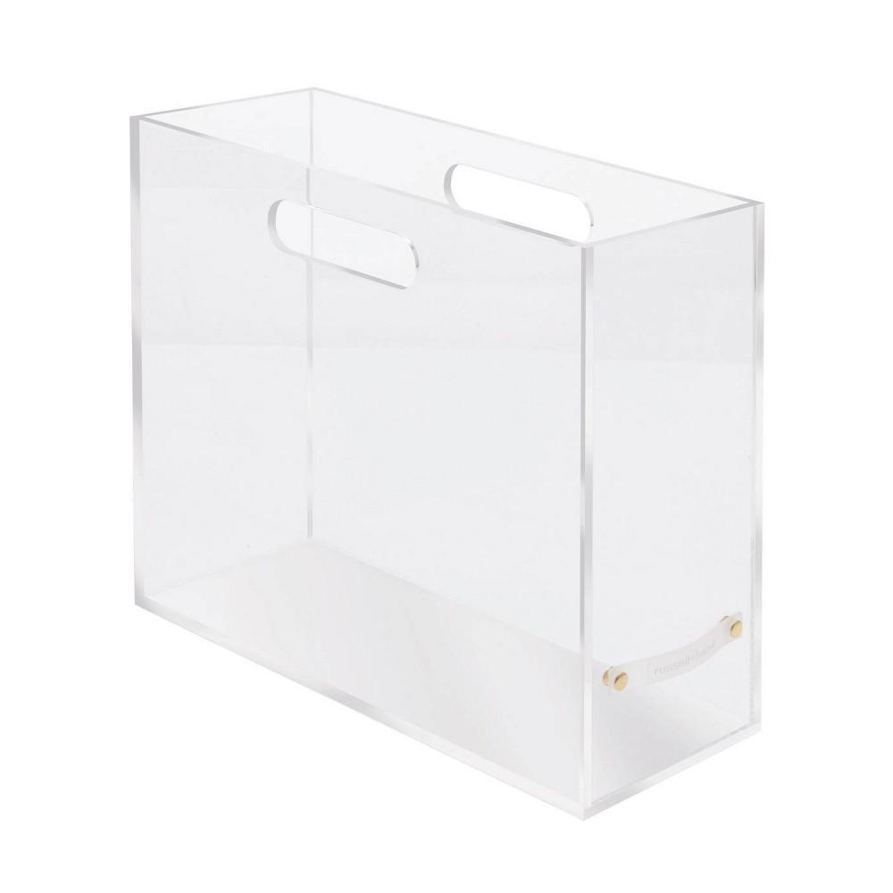 Image of RUSSELL + HAZEL Acrylic File Box Slim