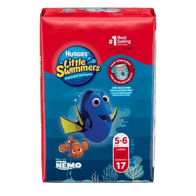 Huggies Little Swimmers Disposable Swimpants - Size L (17ct)