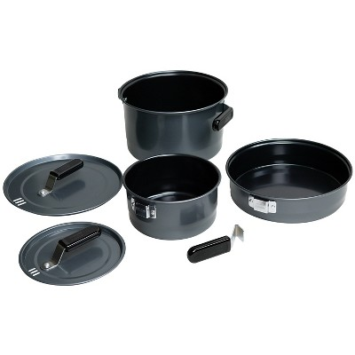 Coleman 3pc Family Cook Set - Black