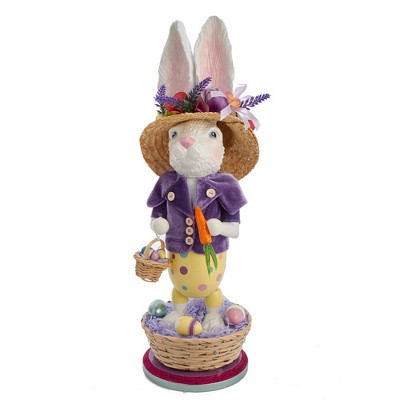 "Kurt Adler 20.5"" Hollywood Easter Bunny Nutcracker"