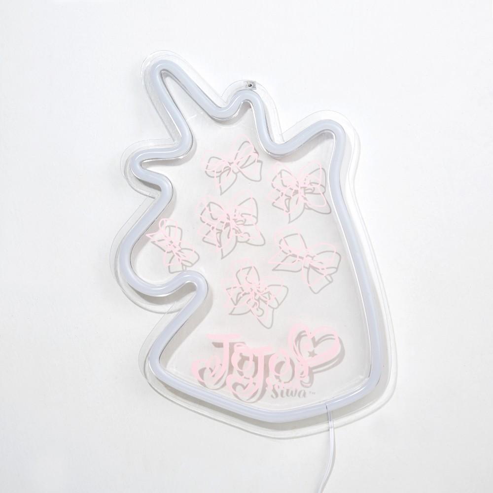 Image of JoJo Siwa Neon Wall Art, Novelty Table Lamps