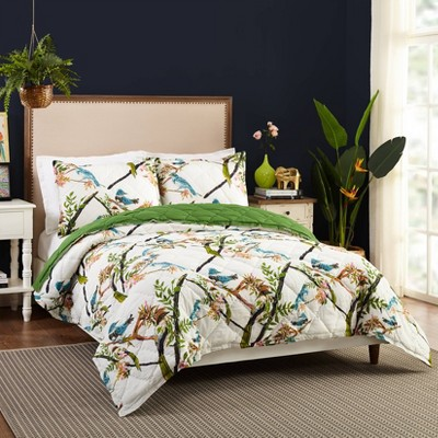Bari J for Makers Collective Conservatory Full/Queen 3pc Quilt Set Cream
