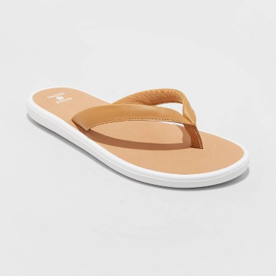 Women's Calyssa Flip Flop Sandals - Shade & Shore™ Tan