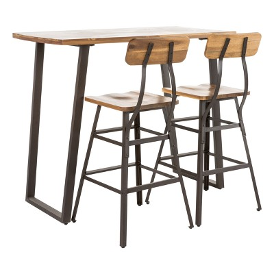 Ramona Bar Height Dining Set Natural - Christopher Knight Home