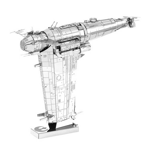 Fascinations Metal Earth Star Wars The Last Jedi Resistance Bomber 3D Metal Model Kit - image 1 of 1