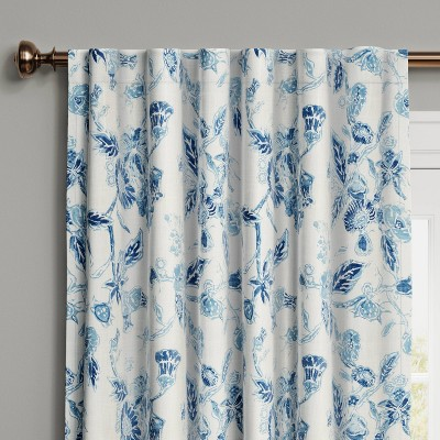 Stamped Floral Blackout Curtain - Threshold™