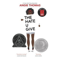 The Hate U Give - by Angie Thomas (Hardcover)