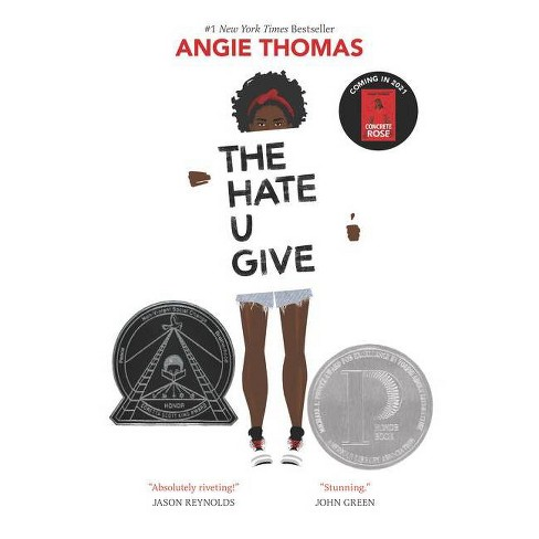 The Hate U Give - by Angie Thomas (Hardcover) - image 1 of 1