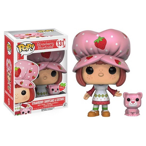 Funko POP! Animation: Strawberry Shortcake- Strawberry Shortcake and Custard - image 1 of 1