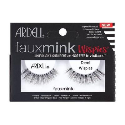 Ardell Eyelash Demi Wispies Faux Mink Black - 1pr