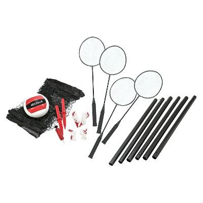 Kelsyus Premium Badminton Volleyball Combo