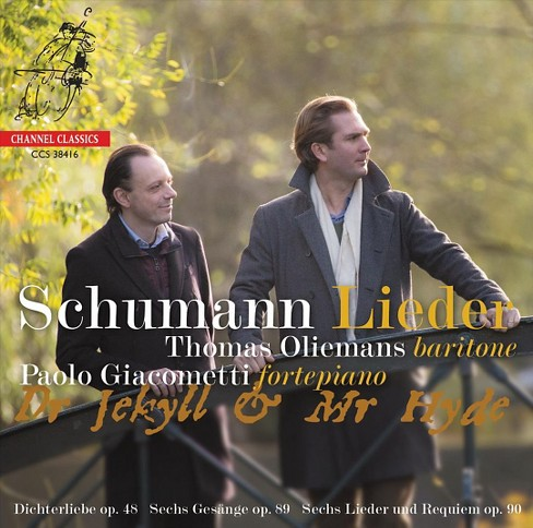 Thomas oliemans - Schumann:Dr. jekyll & mr. hyde (CD) - image 1 of 1