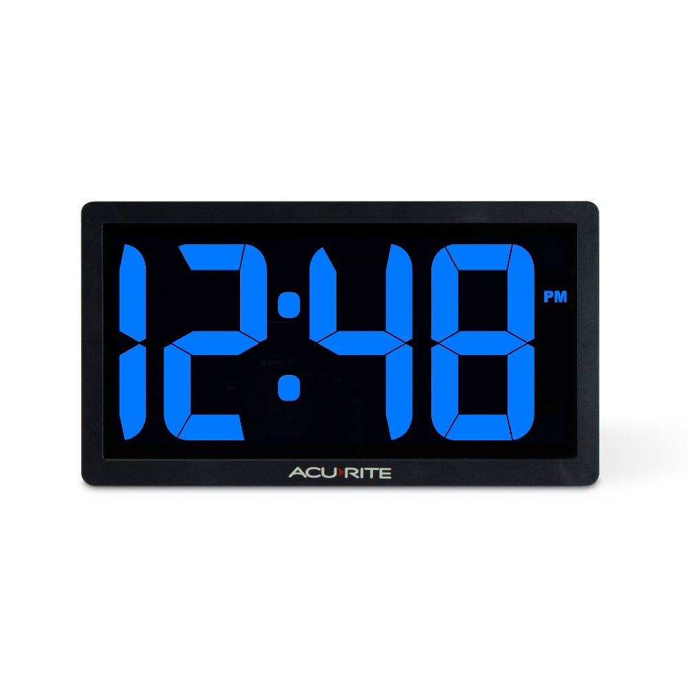 Image of 10 Digital Led Clock Blue - AcuRite