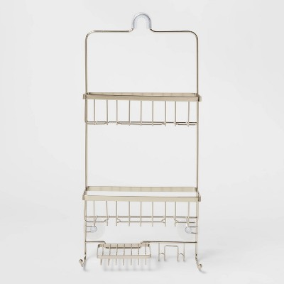 Bathroom Shower Caddy Brushed Nickel - Made By Design™