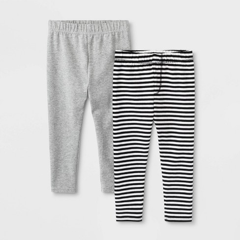 Toddler Boys' 2pk Pull-On Pants - Cat & Jack™ Heather Gray - image 1 of 1