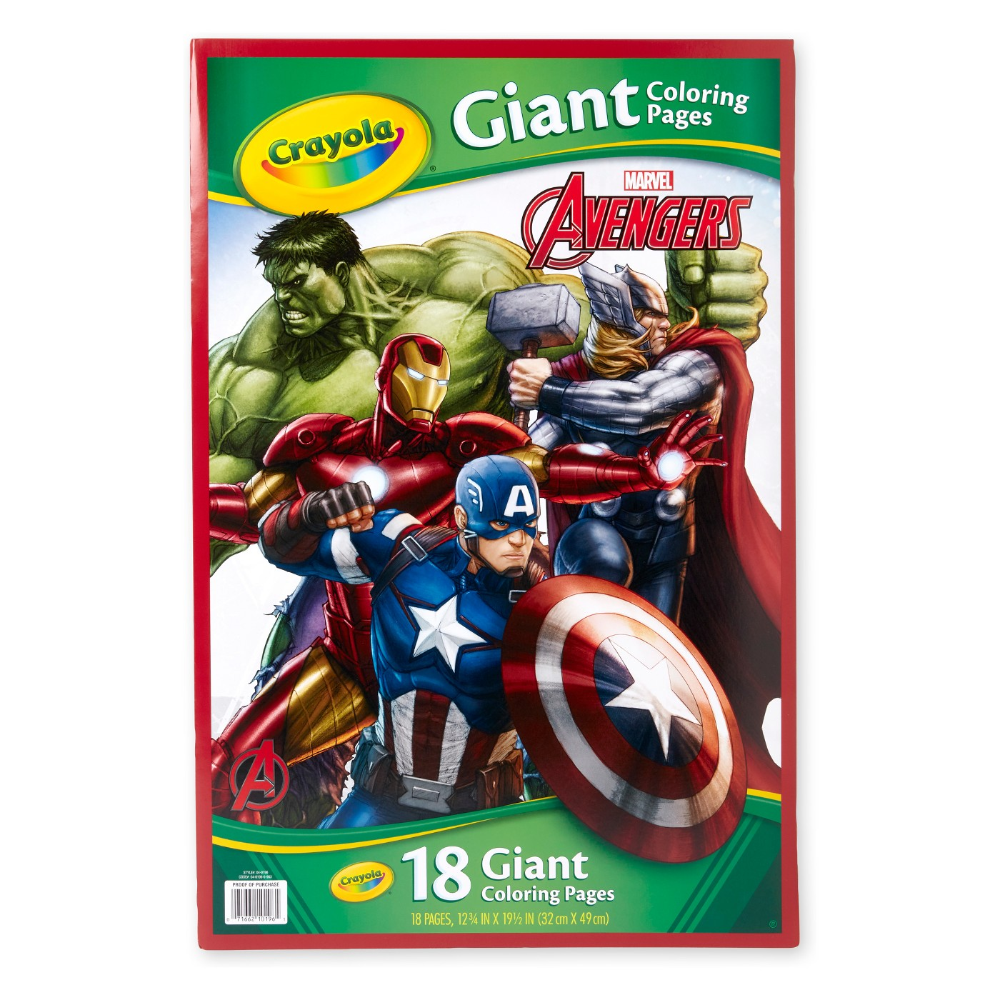 Crayola Avengers Giant Coloring Pages - image 1 of 4