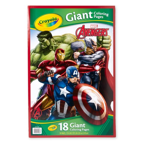 Crayola Avengers Giant Coloring