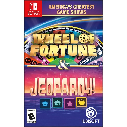 America's Greatest Game Shows: Wheel of Fortune & Jeopardy - Nintendo Switch - image 1 of 1