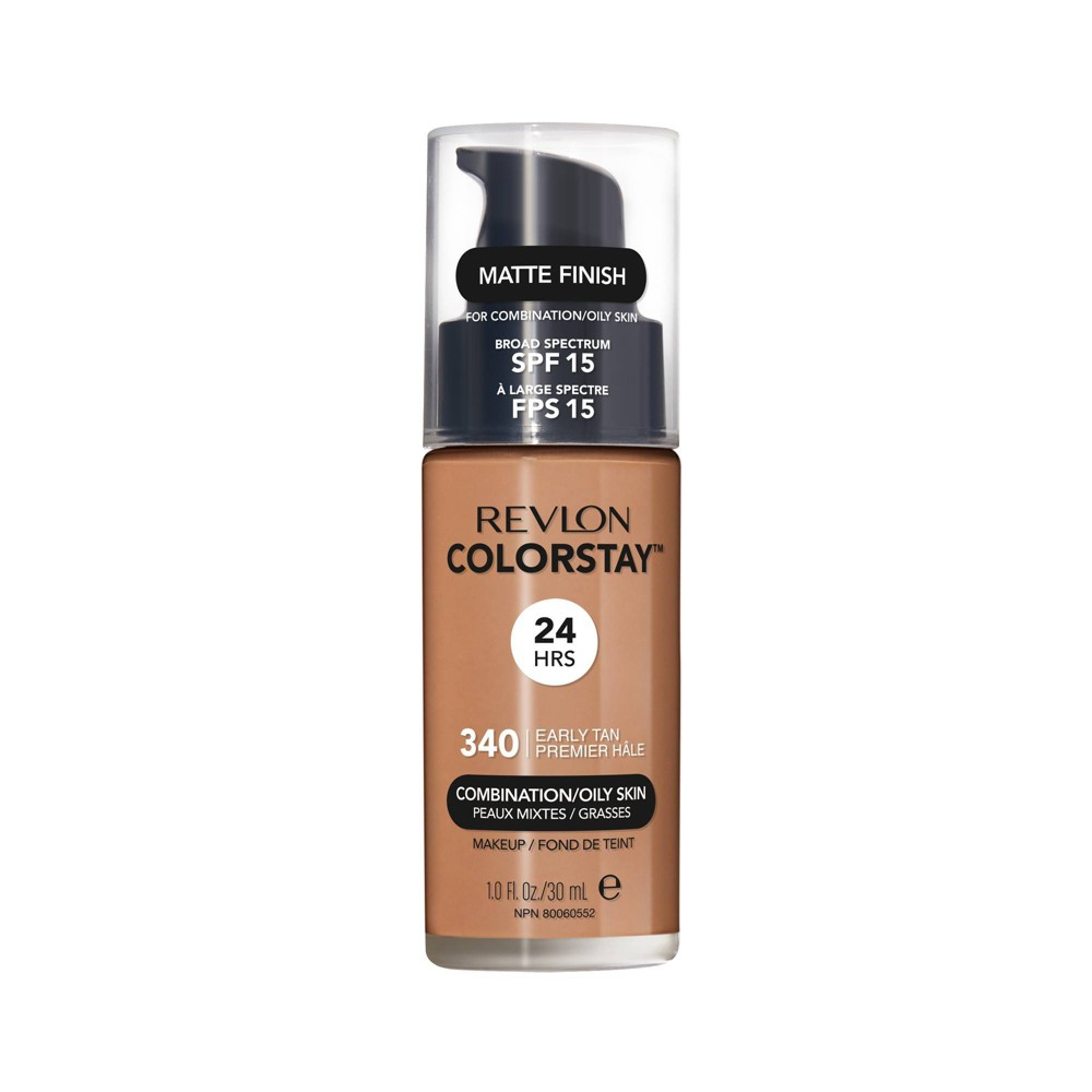 Revlon ColorStay Makeup For Combination/Oily Skin with Spf 15 340 Early Tan