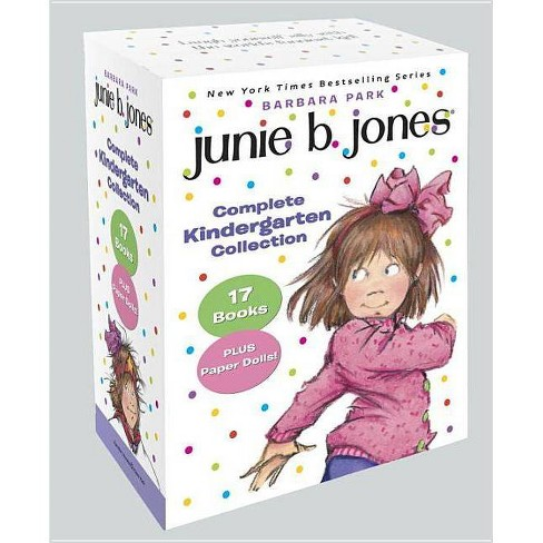 Junie B. Jones Complete Kindergarten Collection - by  Barbara Park (Paperback) - image 1 of 1