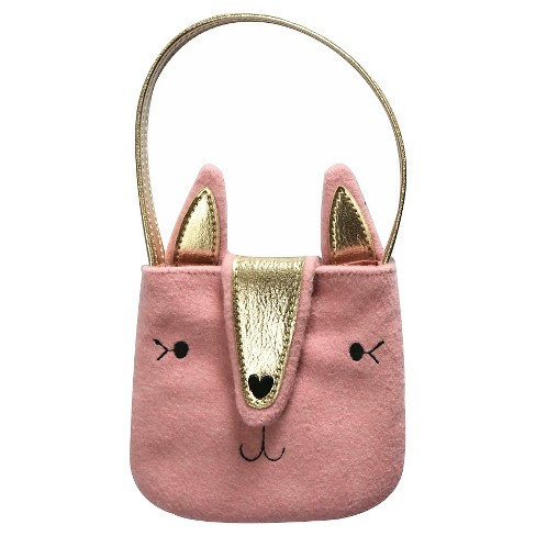 Girls Kitty Purse With Ears Cat Jack Pink Target