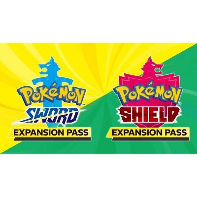Pokemon Sword or Pokemon Shield: Expansion Pass - Nintendo Switch (Digital)