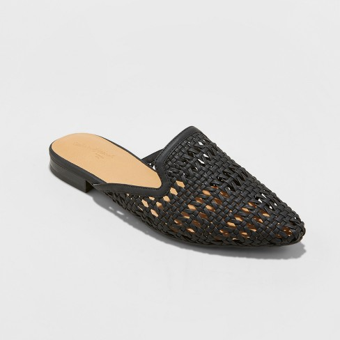 7237cfdbb Women's Whisper Woven Backless Slip On Mules Mules - Universal Thread™ :  Target