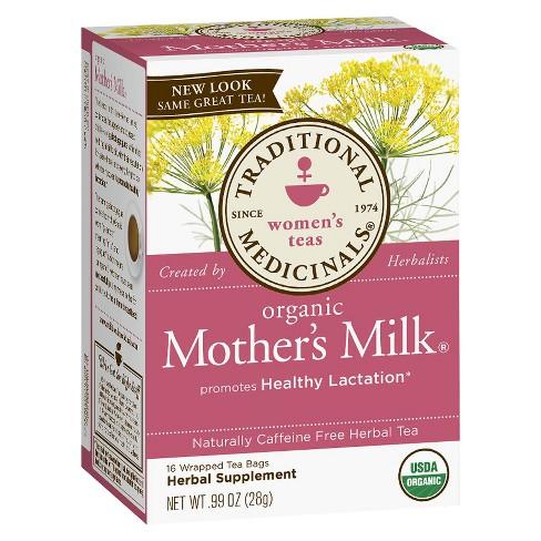 Traditional Medicinals Organic Mother's Milk Herbal Tea - 16ct - image 1 of 2