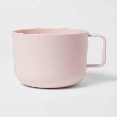 30oz Plastic Soup Mug Pink - Room Essentials™