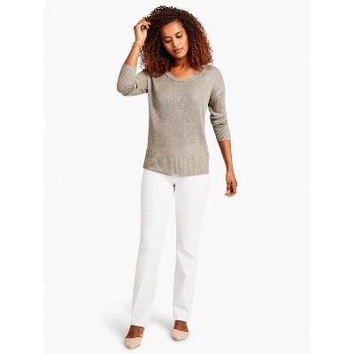 NIC+ZOE Women's Polished Wonderstretch Pant Paper White
