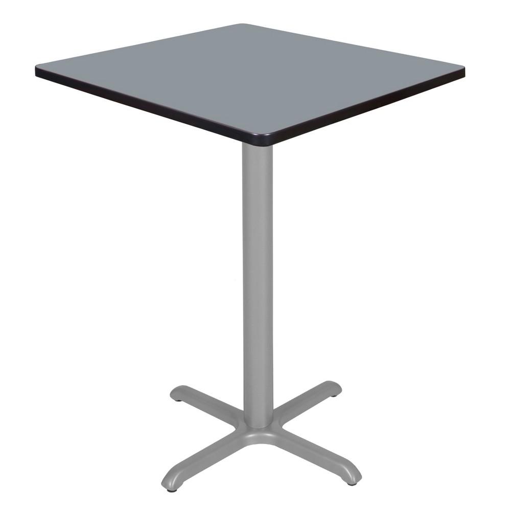 30 Via Cafe High Square X - Base Table Gray - Regency