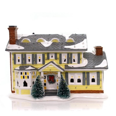 """Department 56 House 7.5"""" The Griswold Holiday House National Lampoons Snow Village  -  Decorative Figurines"""