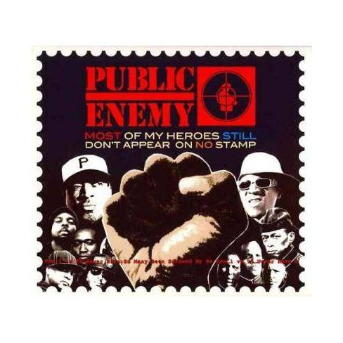 Public Enemy - Most of My Heroes Still Don't Appear on No Stamp (CD) - image 1 of 1