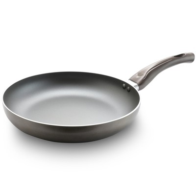Oster Sato 10 Inch Aluminum Frying Pan in Metallic Champagne