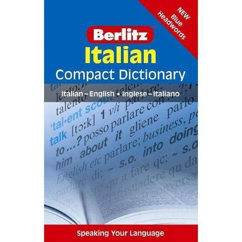 Berlitz Italian Compact Dictionary - (Berlitz Compact Dictionary: Italian-English/English-Italian) - image 1 of 1