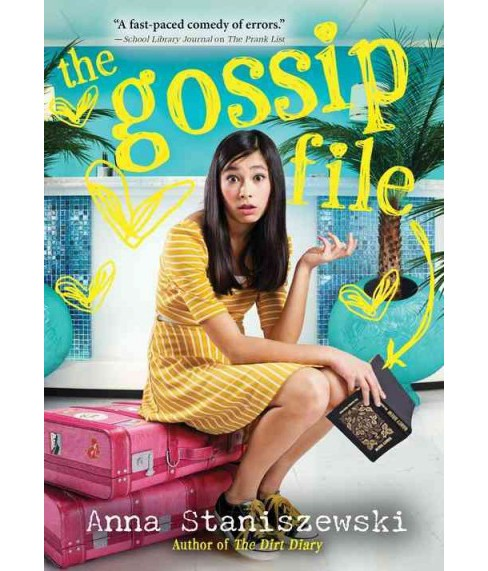 Gossip File -  (Dirt Diary) by Anna Staniszewski (Paperback) - image 1 of 1
