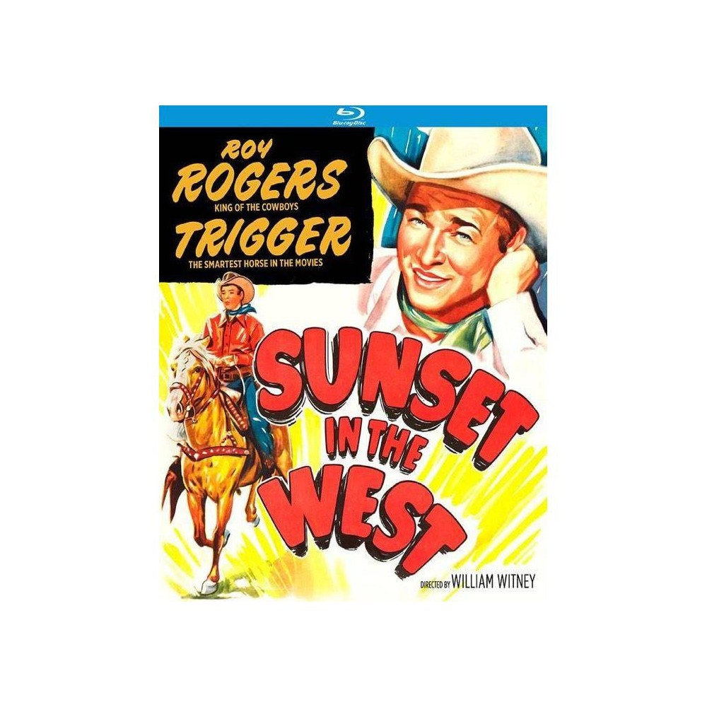 Sunset In The West Blu Ray