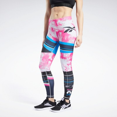 Reebok MYT Engineered Leggings Womens Athletic Leggings